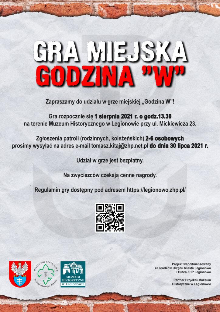 """GRA 1 SIERPNIA – """"GODZINA W"""""""